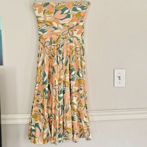 J Crew Factory Print Knit Dress